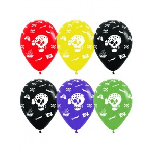 Воздушный шар Пираты, Ассорти  (12''/30 см)