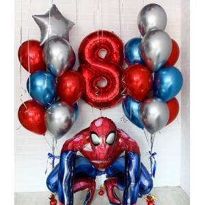 Набор воздушных шаров человек паук